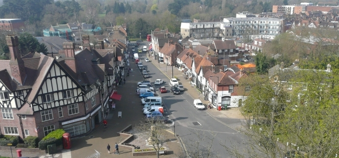 Pinner from on high