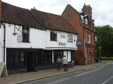 Zizzi at the Victory built around 1480 not as they claim 1580.